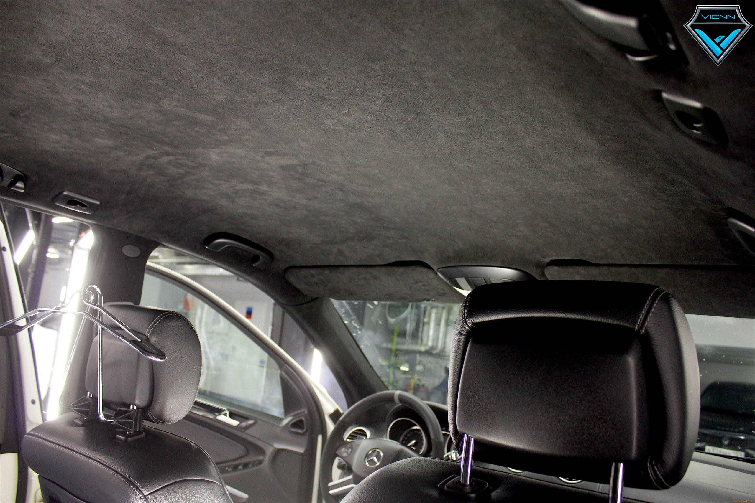 Как перетянуть потолок автомобиля своими руками 89